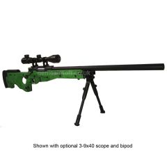 Warrior L96  Well MB01 V3 Airsoft Sniper Rifle  2-Tone